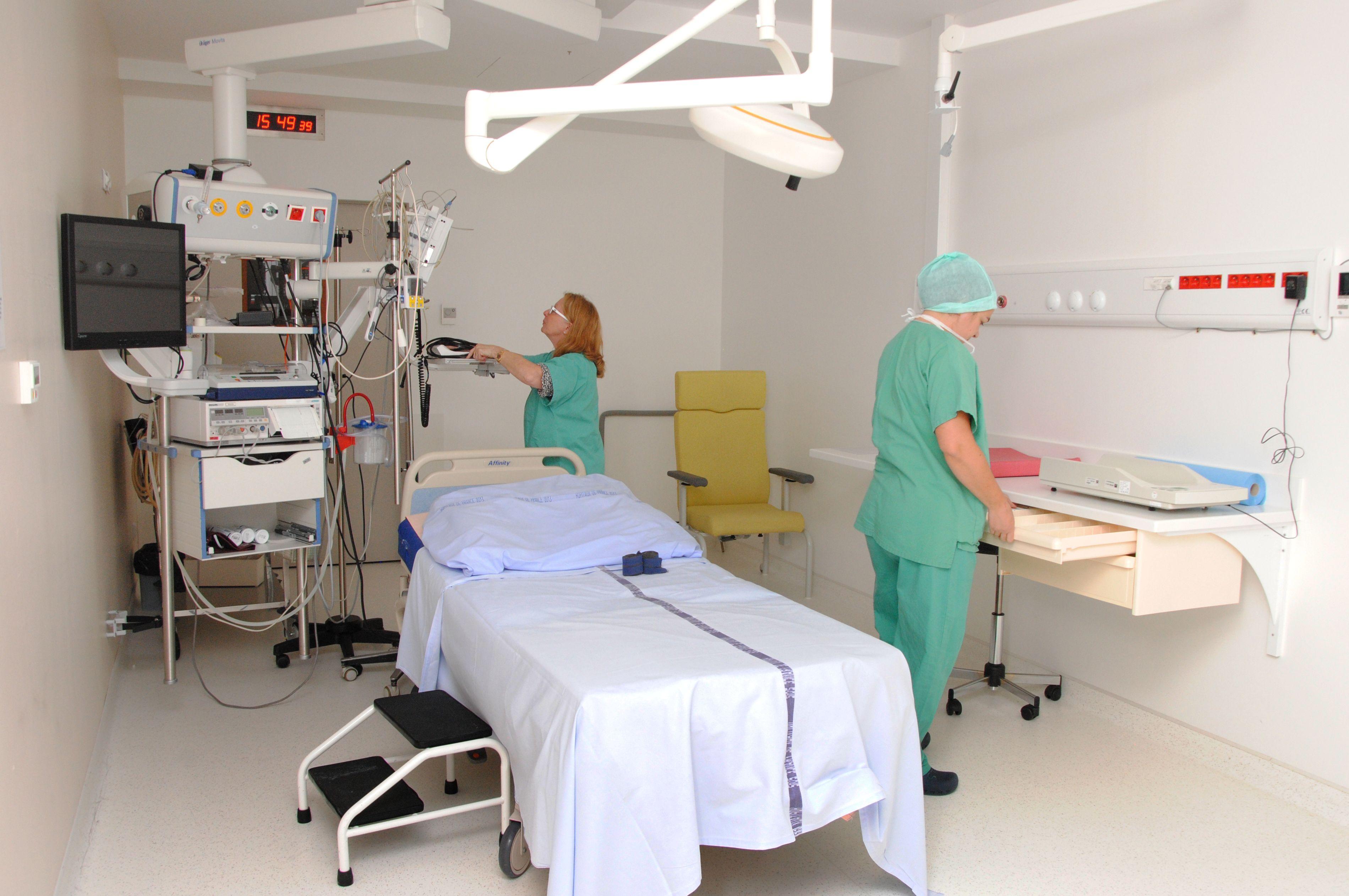 одна из операционных MedicalClub